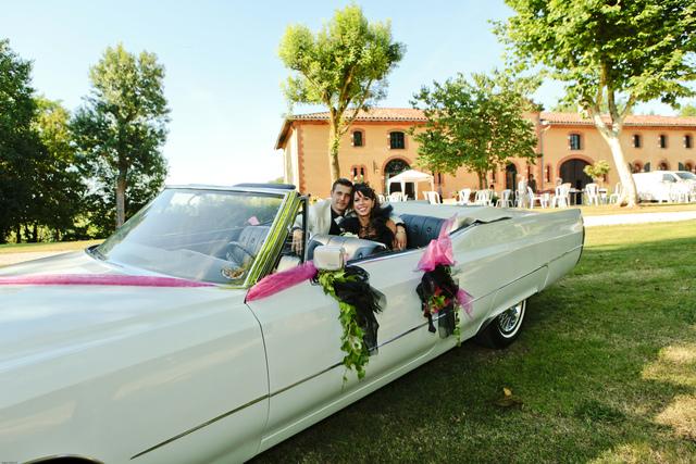 Une Cadillac ou une Peugeot 203 pour votre mariage, votre soirée ou ...